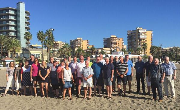 Tilfredse kursister på Flyt skolebænken til Costa del Sol