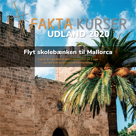 Flyt kursusbænken til Mallorca